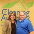 The Cleaning Authority Owners Doug and Sally Entrekin